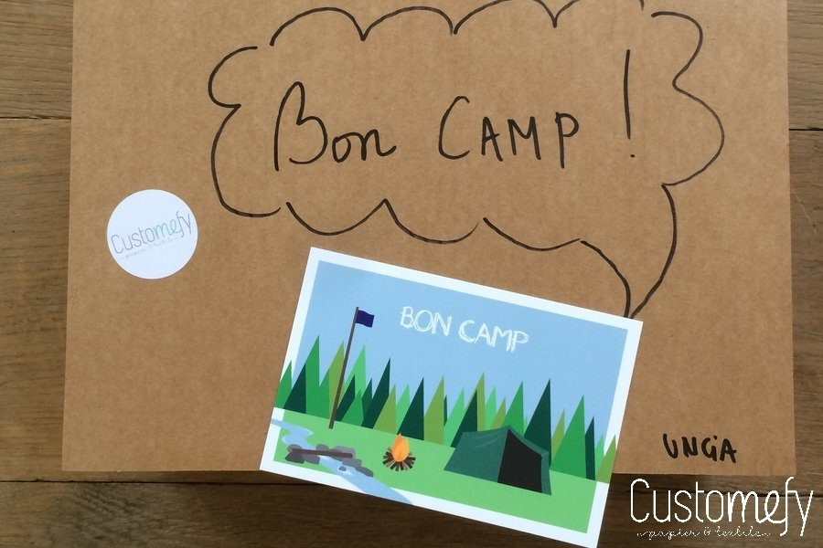 Les cartes Bilpaper 'spécial camp'