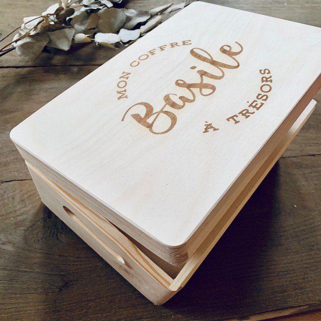 Aangepaste houten doos