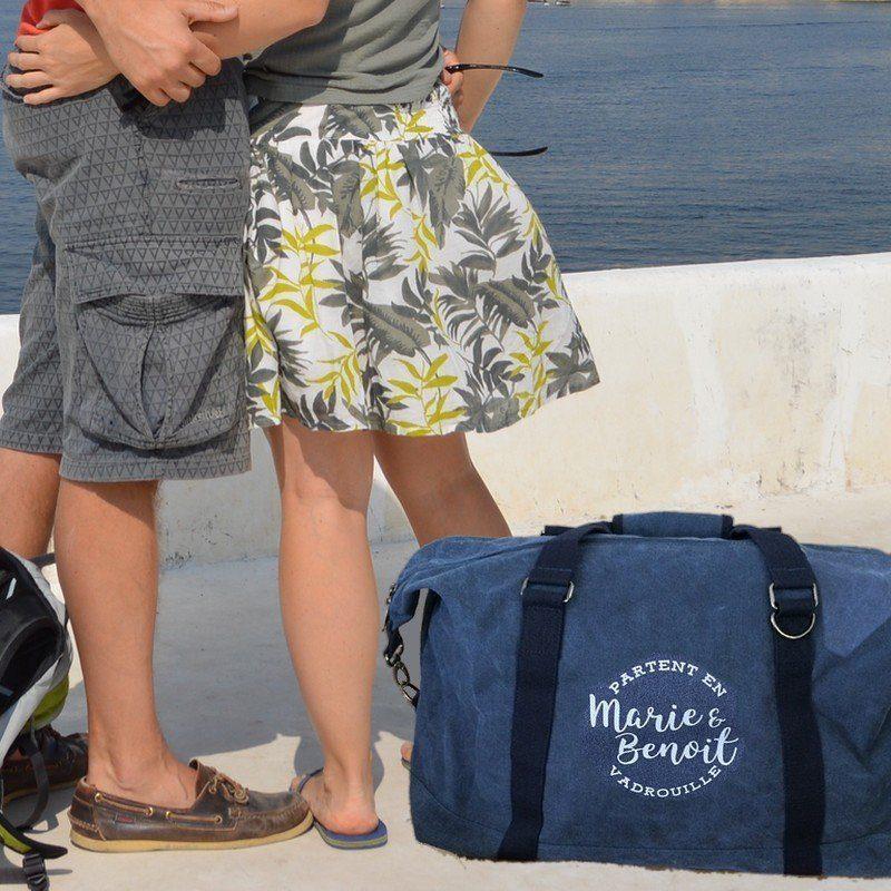 sac de voyage personnalisé pour les amoureux